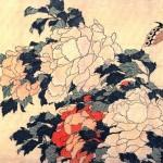 Hokusai - pivoine