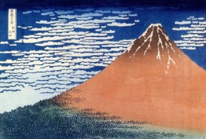 Hokusaï – Mont Fuji